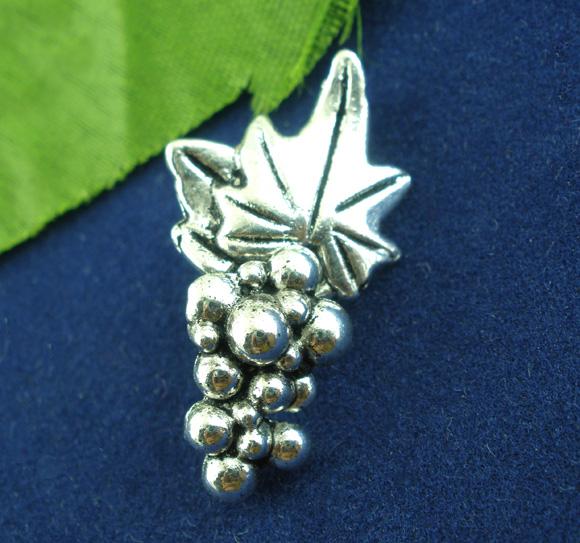 Smykkelås antik sølv vinklase