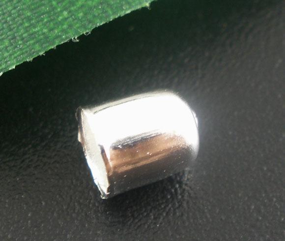 Enderør 6 x 5 mm Sølvbelagt 20 stk