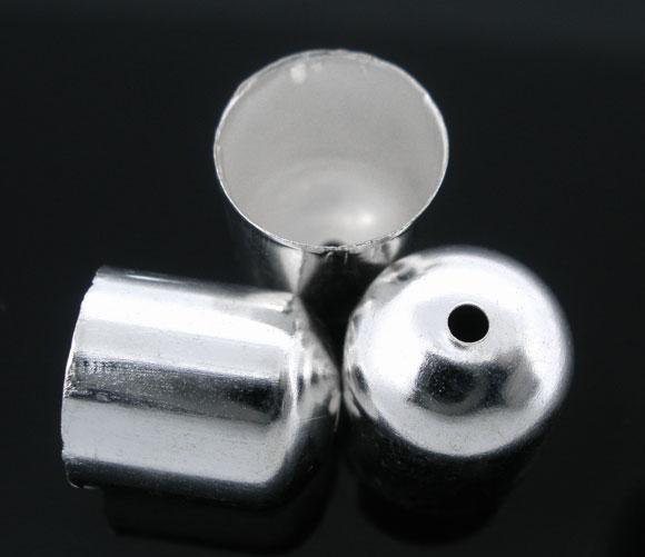 Enderør 10 x 11 mm Sølvbelagt 10 stk