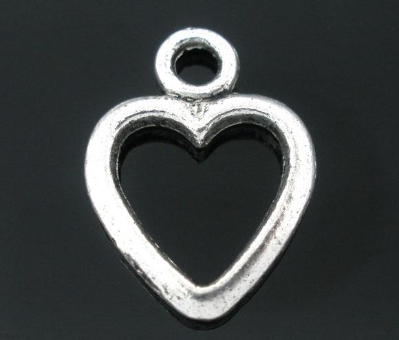 Vedhæng hjerte 15x20 mm