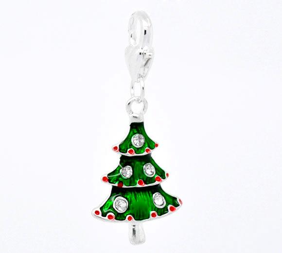 Clip on vedhæng juletræ