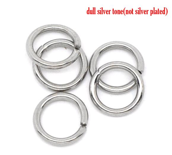 O-ringe rustfri stål 5 hul mm, 50 stk