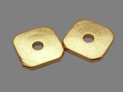 Mellemled / Spacer 20 stk guldfarvet