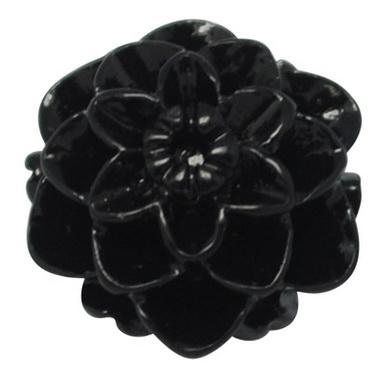 Acryl rose 10 mm sort 10 stk