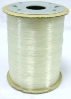 Elastiktråd 0,8 mm klar, 1000 mtr