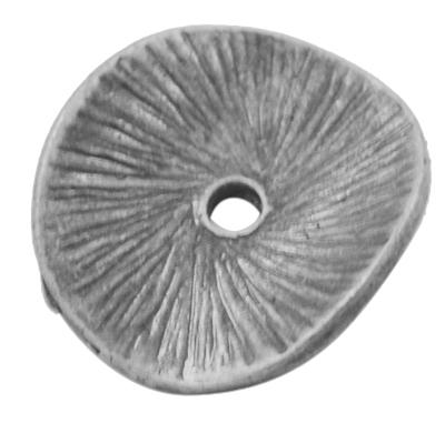 Mellemled / Spacer sølv 10 stk