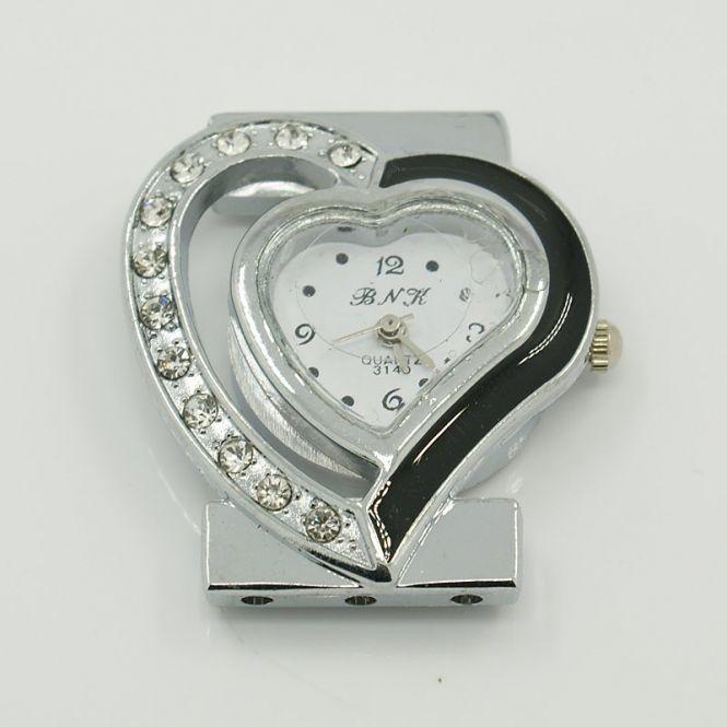 Smykkeur hjerte 32 x 35 mm