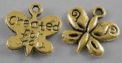 Tibetanske sølv Vedhæng Golden