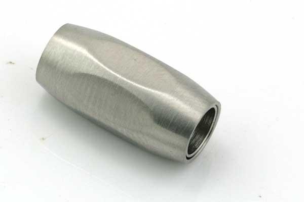 Rustfri stål lås mat 6 mm