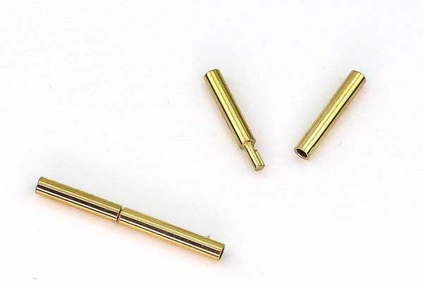 Ørering rustfri stål med mønster