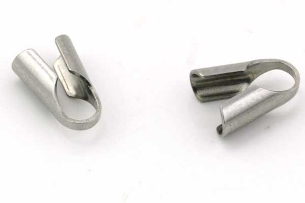 Rustfri stål connector 9,0x4,0 mm 10 stk