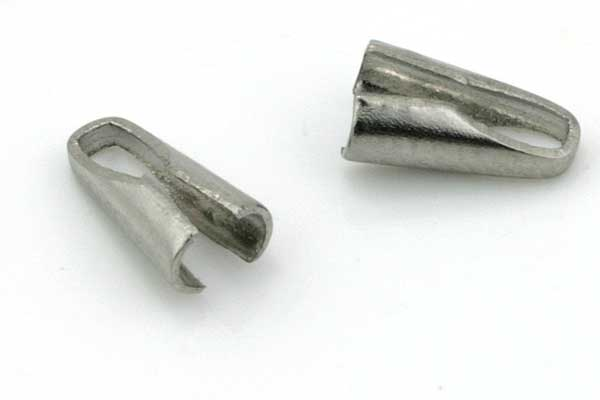 Rustfri stål connector 7,5x2,5 mm 10 stk