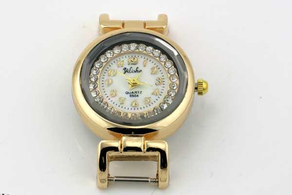 Smykkeur guld 28 mm