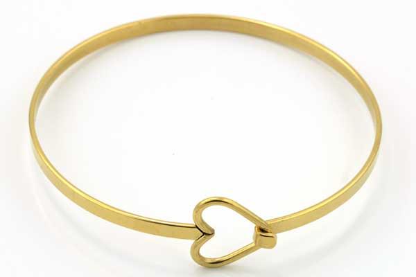 Armbånd rustfri stål Guld