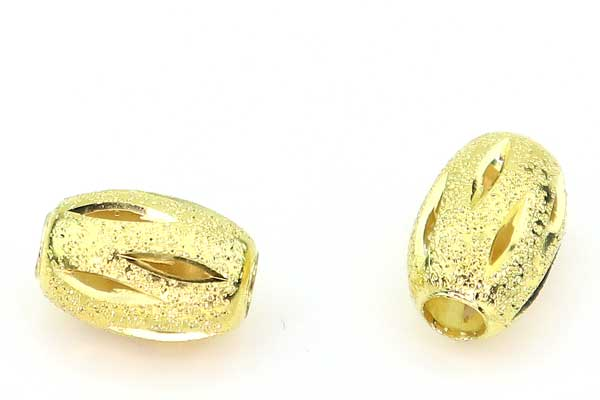 Stardust perler oval guld