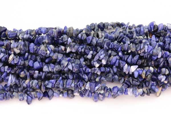 Sodalit chips ca.5x8-10 mm