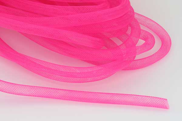 Plastik net Pink