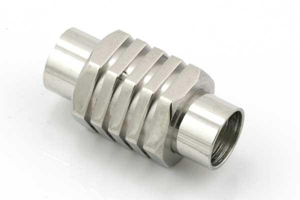 Magnet lås tube Rustfri stål, 6 mm hul