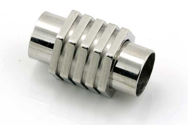 Magnet lås tube Rustfri stål, 8 mm hul