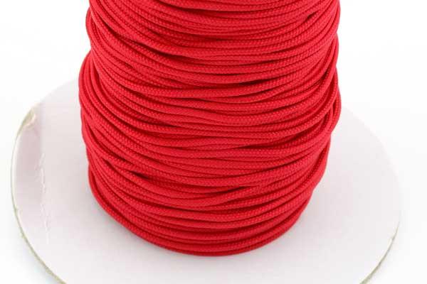 Micro cord 1,5 mm Rød