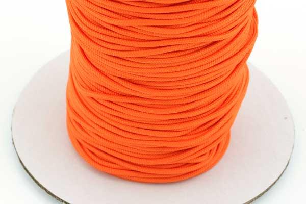 Micro cord 1,5 mm Lys orange