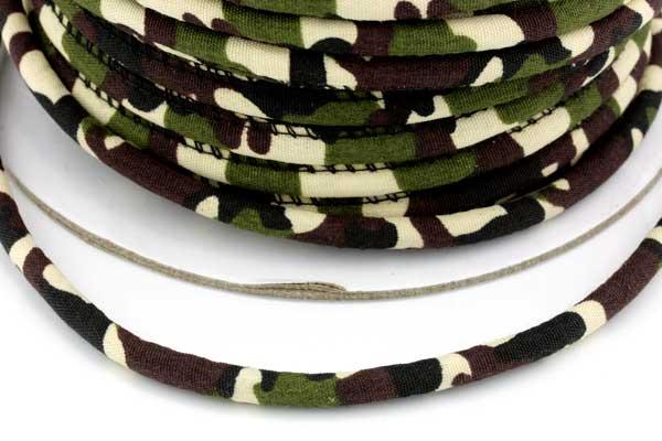 Textil snøre Oliven camouflage