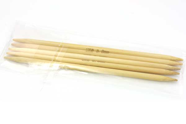 Strømpepinde nr. 5,5 - 15 cm