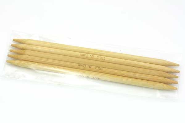 Strømpepinde nr. 6 - 15 cm