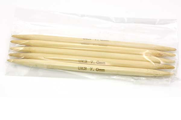 Strømpepinde nr. 7,0 - 15 cm