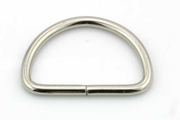 D Ring 24 x 16 mm  10 stk