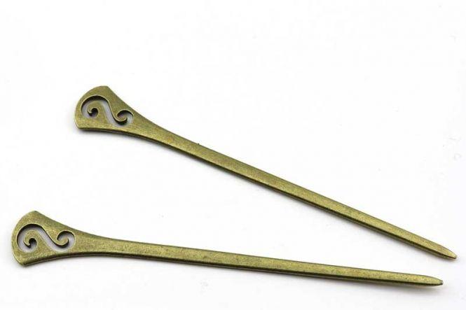 Kvast 8,0 cm Turkis Blå