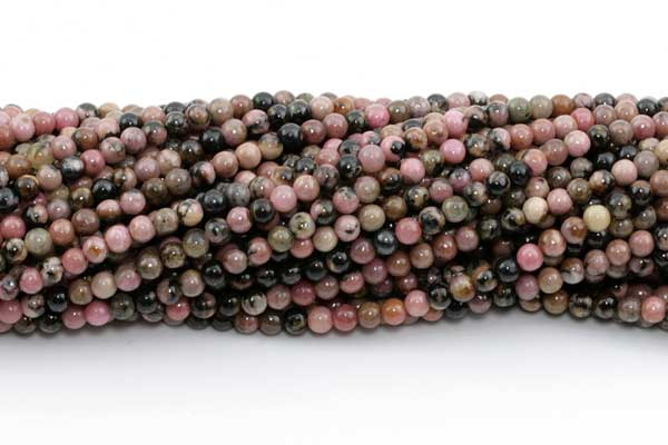 Rhodonite 3 mm