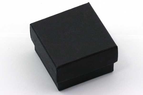 Lille Smykkeæske 50x50 mm sort