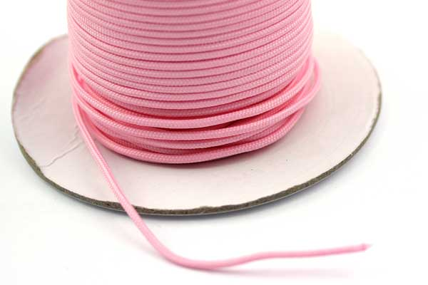 Faldskærmsline 2 mm Pink