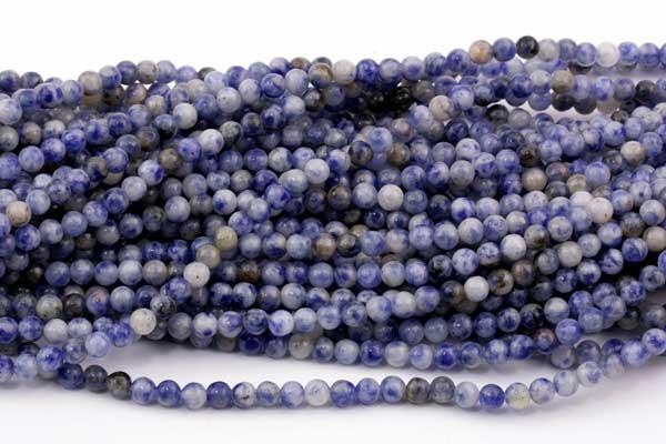 Blue spot Jasper 4 mm