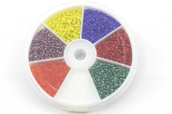 Seed beads sortiment mix 2 mm 12/0
