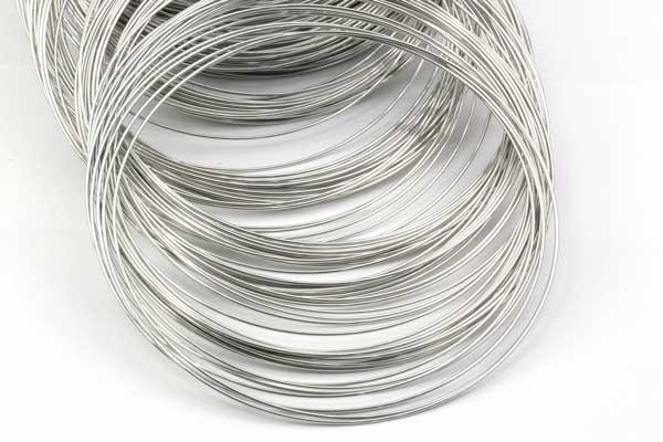 Memorywire til halskæde rustfri stål