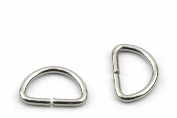 D Ring 9,5 x 14 mm  10 stk