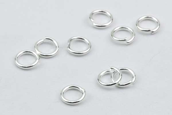 O-ringe rustfri stål hul 3,4 mm 50 stk