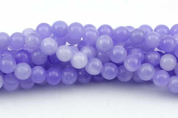 New Jade Lavendel meleret 8 mm