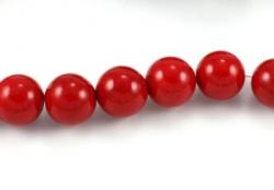 Mashan jade rød 14 mm
