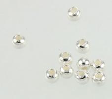 Perle 3 mm Sterling sølv
