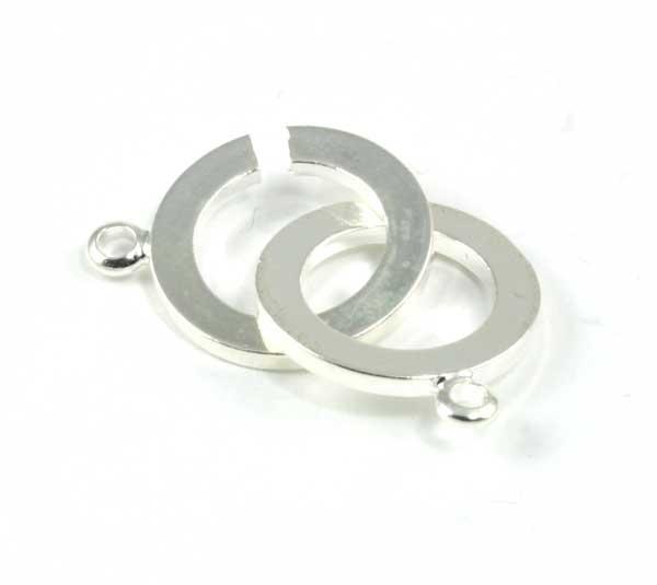 Smykke lås sølv farve