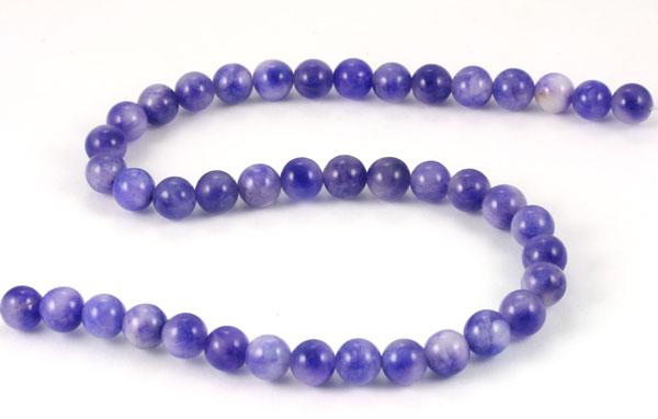 New Jade Lavendel meleret 10 mm