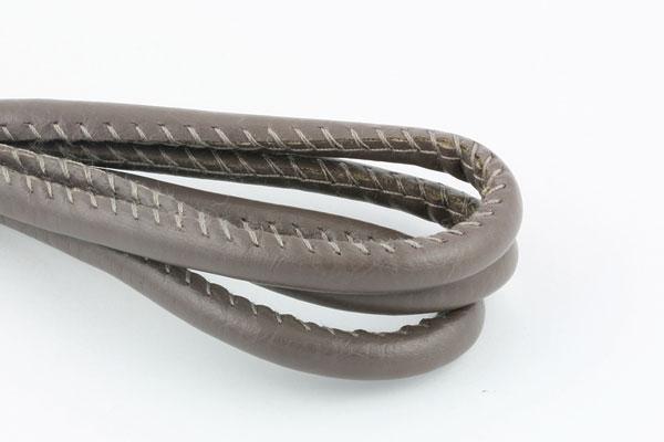 Randsyet imiteret lammeskind 7x6 mm muldvarp