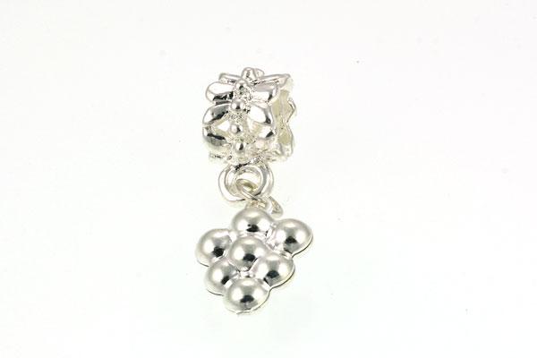 Tibetanske sølv perler Silver med stor hul