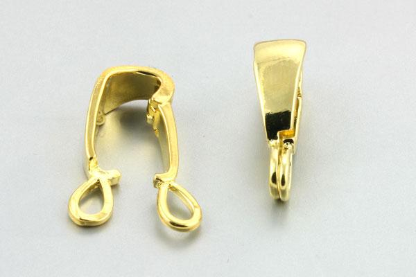 Smykkelås guld farve