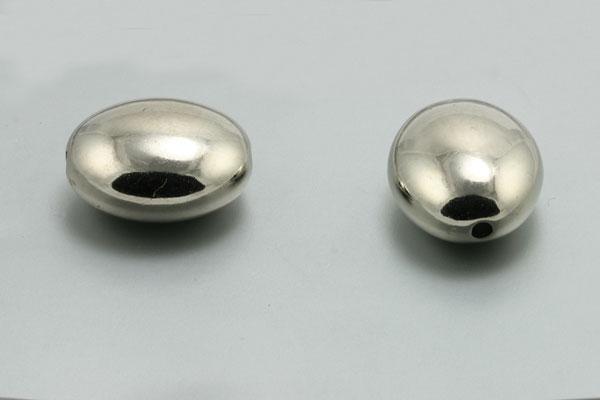 Acrylperle glat oval