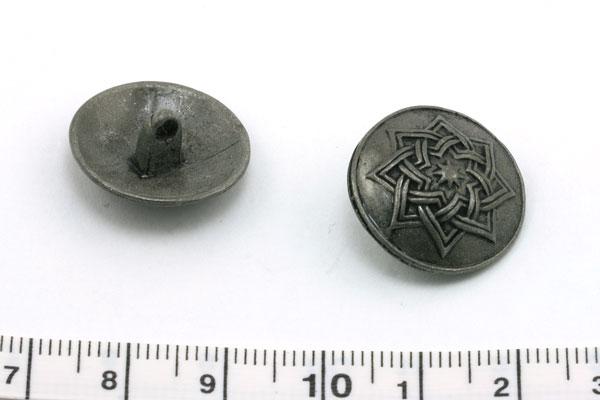 Metal knap 19 mm