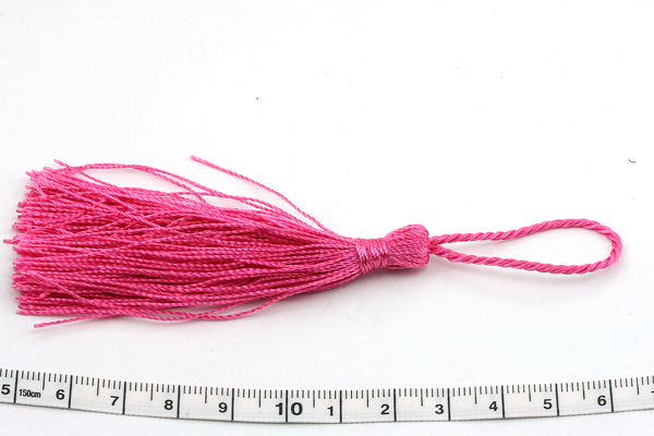 Kvast 13,5 cm fuhcsia